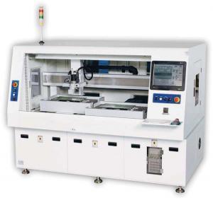 China Router automático da perfuração do PWB da máquina do cortador do metal do CNC do coletor de poeira on sale