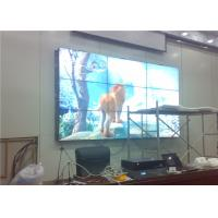 Splicing Screen LCD Broadcast Video Wall Display 3x3 55 Inch For Exhibition Center RS232