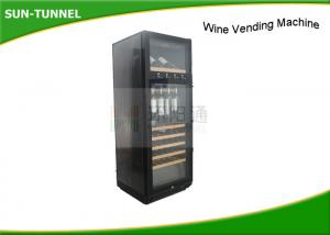 China Intelligent Wine Dispenser Wine Vending Machine LCD Touch Panel Attached on sale