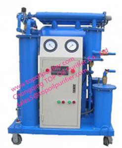 China Machine d'épurateur d'huile pour reconstituer la force du dielectirc de l'huile et toute autre représentation standard on sale