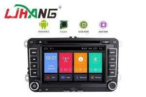 China HD 1024*600 Volkswagen DVD Player With Reversing Camera BT WIFI AM FM on sale