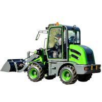 China 1500kg CE EPA GOST Approved Hydraulic Mini Wheel Loader on sale