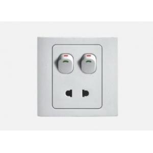 China 4 gang switch with single plate on sale