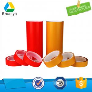 double side polyester film tape, adhesive roll with mopp red