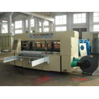 Automatic Corrugated Carton Box Making Machine 115pcs/min For Abnormal Cartons