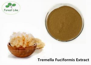 China 20% Polysaccharides Brown Mushroom Extract Powder Natural Plant Tremella Fuciformis Extract on sale