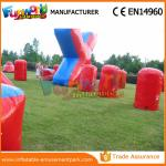 Customized Color Inflatable Air Bunker 0.6mm PVC Tarpaulin Paintball Inflatable Bunkers
