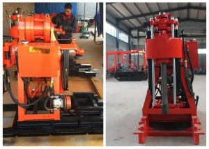 China 180M Core Drilling Rigs / Hydraulic Exploration Water Well Drilling Machine on sale