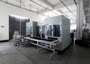 China 360 boards / hour panel laminating machine , Decoration Sheet automatic lamination machine 8 daylights on sale