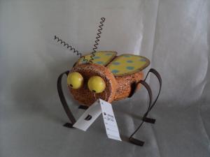 China Cute vivid grasshopper Garden Animal Statues for teaching on sale