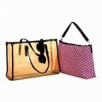 Stylish PVC Girls School Messenger Bags Summer / Spring Casual Sport