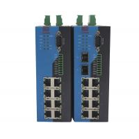 China Metal Housing Serial Ethernet Switch Industrial Manageable Ethernet Switch 900g on sale