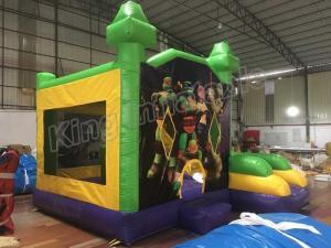 China Teenage Mutant Ninja Turtle Inflatable Bouncy Castle For Childrens on sale
