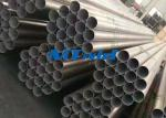 ASTM A789 2205 Duplex Stainless Steel Welded Tube For Fitness Equitment