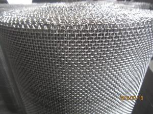China Professional Crimped Stainless Steel Wire Mesh galvanized surface treatment on sale
