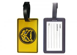 China High Quality Cool Soft PVC Luggage Tag, Promotional Printed Luggage Tags on sale