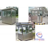 China Durable Prefab Security Sentry Box Steel Structure sandwich panel door on sale