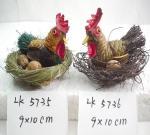 Handicraft henhouse,easter decoration,easter gifts,easter ornament,garden decoration