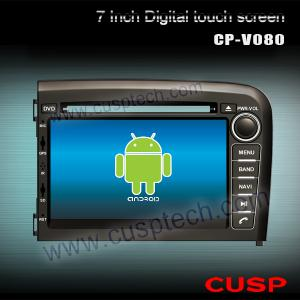China CP-V080 7 inch Android system car DVD gps navigation car radio player ,Support WIFI,3G for VOLVO S80 1998-2006 on sale