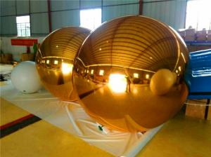 China Customized Sphere Inflatable Balloons Mirror Ball For Entertainment on sale
