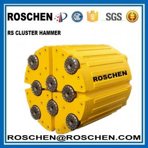 China Jumbo Hammer Utility Power Pole Cluster Drill For Creates Electric Pole Sockets In Hard Rock on sale