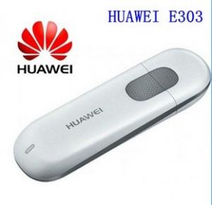 China Unlocked 7.2Mbps HUAWEI E303 3G HSDPA Modem And 3G USB Modem PK E220 E1750 E1550 E3131 on sale
