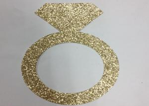 China 300gsm Glitter Glitter Paper Letters 5 Tall Gold Glitter Paper Ring on sale