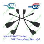 Cable micro del anfitrión del USB OTG