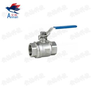 China 1/4-4 inch 2PC Stainless Steel Ball Valve Female Threaded Ends on sale