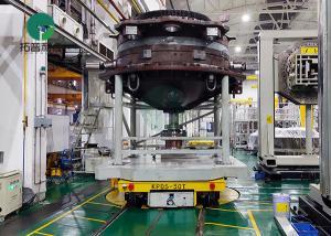China Custom Heavy Load Motor Driven Motorized Rail Turntable for Railcar on sale