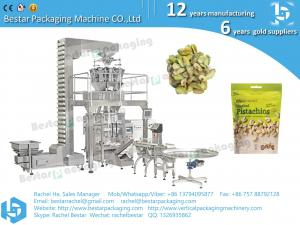 China Automatic vertical pistachio nuts packaging machine on sale