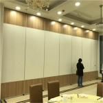 Interior Wood Movable Sound Proof Sliding Folding Partition Walls Cost in United States