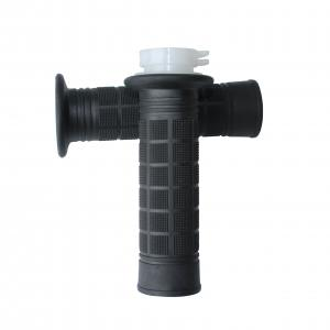China Black Motorcycle Spare Parts 30mm Left And Right Dirt Bike Hand Grips on sale