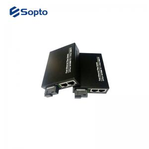 China PoE Power Fiber Media Converter 1 Fiber Port 4 UTP Ports With Commercial Temperature on sale