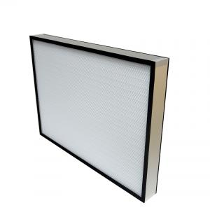 China H14 high efficiency fiberglass 1170x570mm aluminium industrial air HEPA filter OEM on sale
