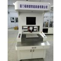 China Floor Type Automatic Dispensing Machine , English Panel Epoxy Glue Dispenser on sale