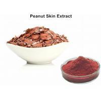 China Natural Red Pigment Peanut Skin Extract , Food Grade Peanut Skin Nutrition on sale