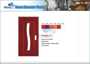 China NV31-S Series Narrow / Wide Villa Elevator Automatic Door , Glass Elevator Swing Door on sale