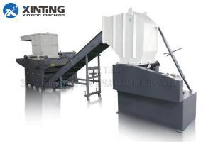 China Bulk Plastic Lumps Metal Cans Wood Twin Shaft Shredder , Waste Plastic Recycling Shredder on sale