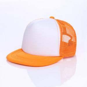 b32ae20a0af ... Quality Custom Logo Flat Brim Polyester Foam Front Mesh Back Snapback Trucker  Hats for sale ...