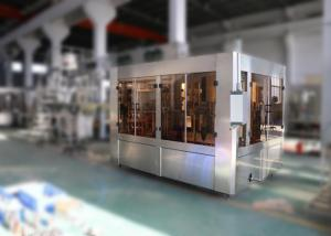 China Pure Bottled Automatic Water Filling Machine , Mineral Water Bottling Machine 7.5KW on sale
