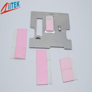 China 4W/MK Heat Sink Pad Sheet For LED Ceilinglight Pink TIF100-40-14E , 35 Shore 00 on sale