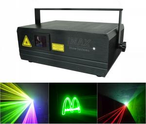 China Laser Stage Light IMAX 1.98 RGB For Animations / Logos on sale