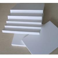 China Thickness 5mm 10mm PVC Foam Board Sheet White Furniture White PVC Sheet on sale