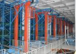 High Tech Automated Storage Retrieval System For Warehouse Palletized Goods