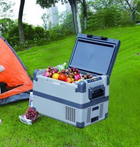 EVERCOOL portable solar 12v dc compressor mini car fridge freezer