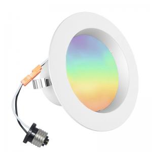 China 4 Inch Changeable Color Bluetooth Led Downlights APP And Bluetooth Remote Controller on sale