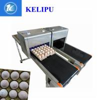 Safety Egg Inkjet Coding Printer / Inkjet Marking Printer With Edible Food Ink