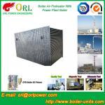 El precalentador de aire de la caldera de gas de 80 toneladas en central térmico, ventilapre el calentador