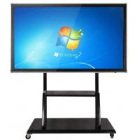 China Floor Stand Movable Touch Screen LCD Monitor Support Windows / Android For Teaching on sale
